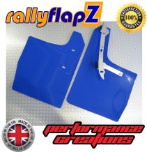 VW GOLF MK4 (1997-2004) BLUE MUDFLAPS